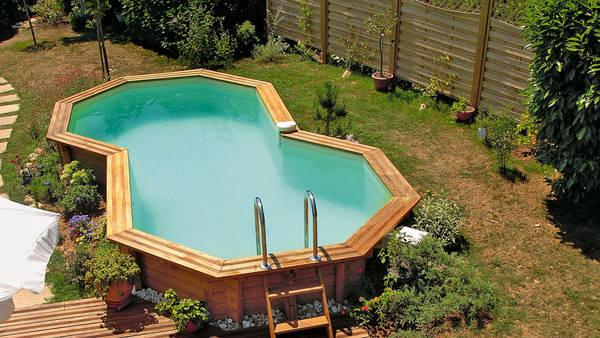 Piscine hors sol bois semi enterrée prix : Comparez les piscinistes de votre région