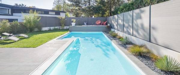 prix piscine semi enterrée posee